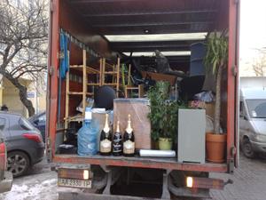 Переезд квартиры из Киева в Бровары с компанией Гулливер-транзит