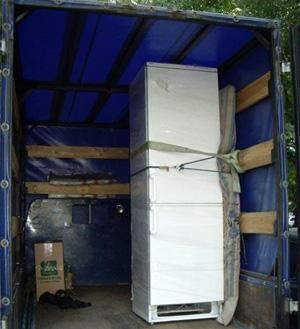 Профессиональные грузчики поднимут холодильную камеру и другую технику на любой этаж