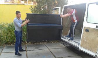 Профессиональная перевозка пианино грузовым автотранспортом в Киеве